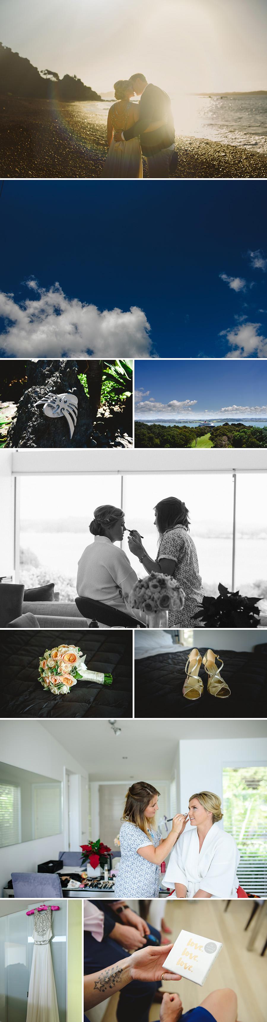 Eagles Nest wedding in Northland NZ. Photographer Jess Burges