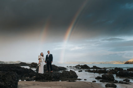 Northland New Zealand Wedding Photographer Jess Burges. Russell Wedding